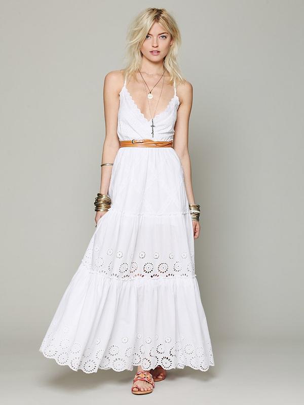 Evgen Fashion Blog Eyelet Wedding Dresses